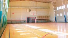 Двери в спортивный зал, Школа